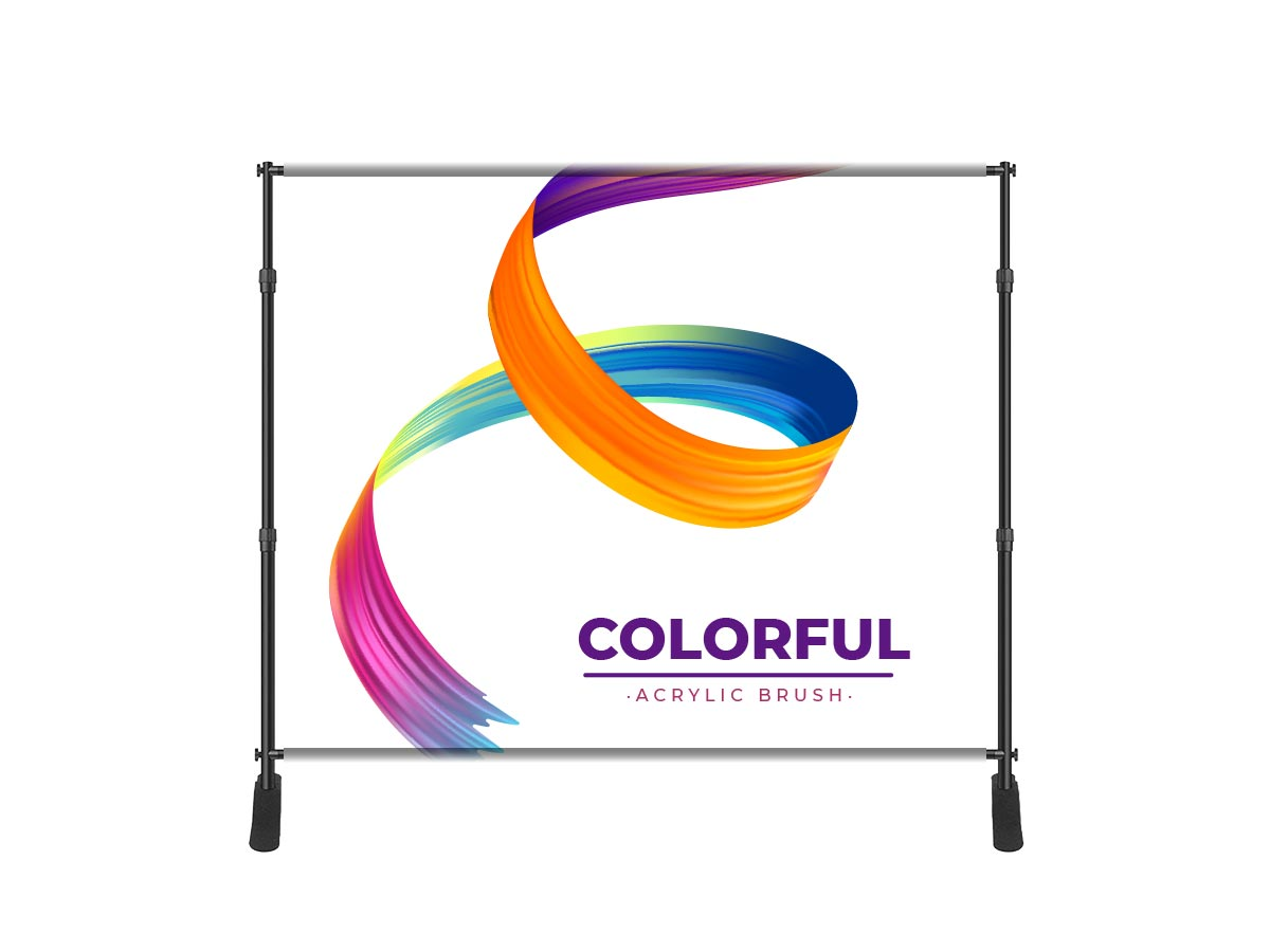 Fabric Adjustable Banner Stand