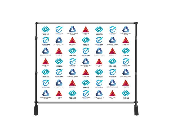 Fabric Step and Repeat Adjustable Banner Stands