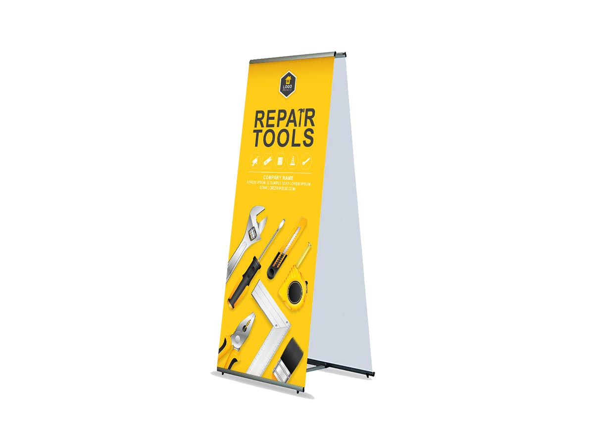 LT Banner Stands Double Sided
